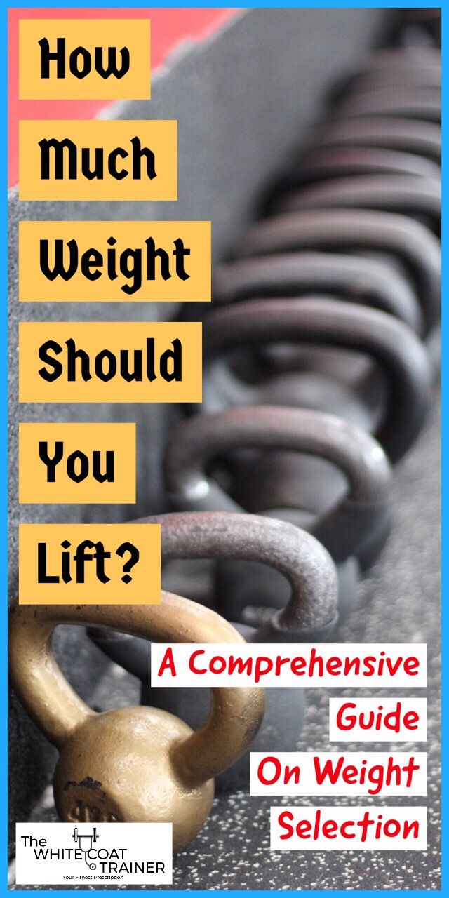 weight lifting guide with pictures