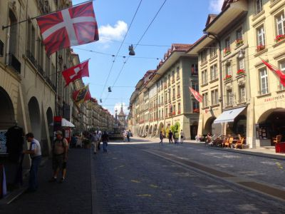self guided walking tour bern