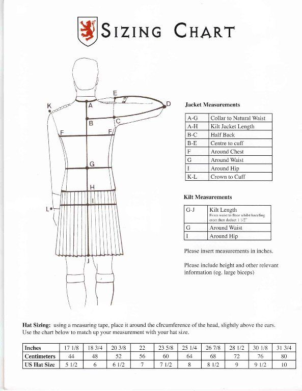 highland dancing pumps size guide