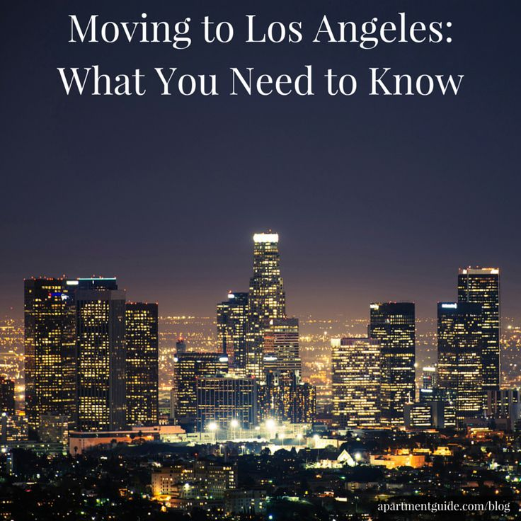 guide to moving to los angeles