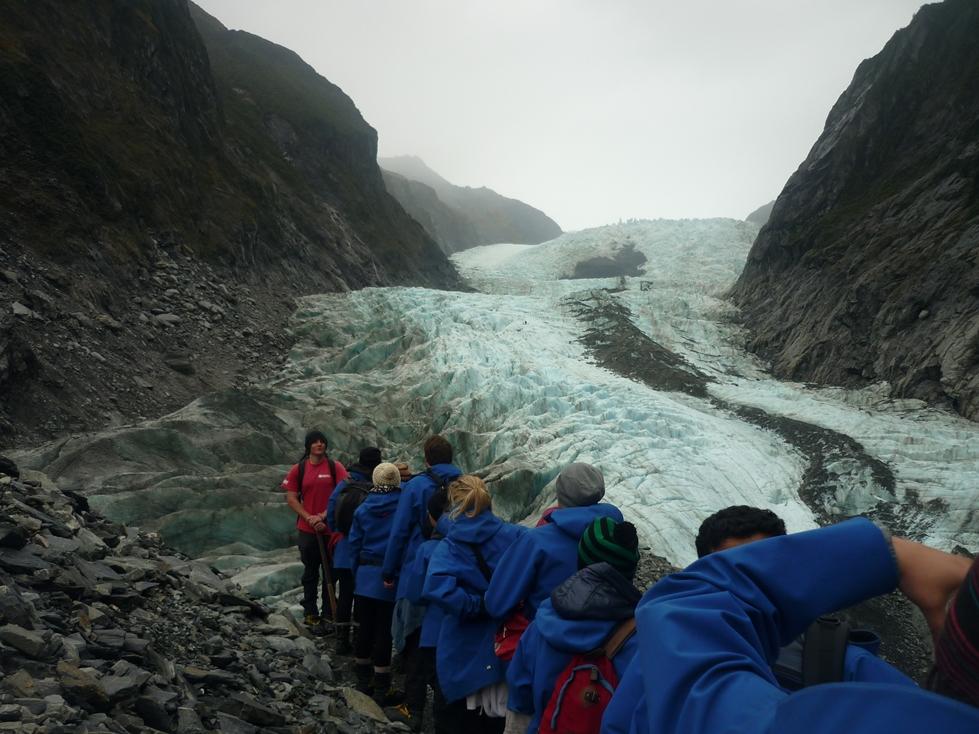 franz josef glacier guided walk