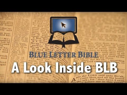 blue letter bible study guide