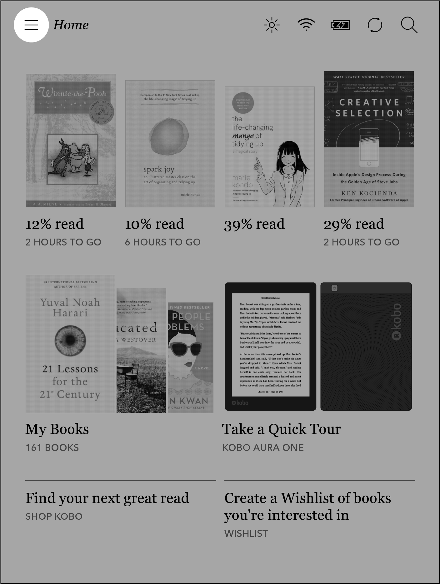 kobo aura one user guide