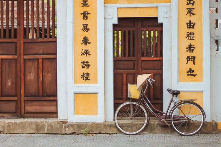 self guided bike tour hoi an