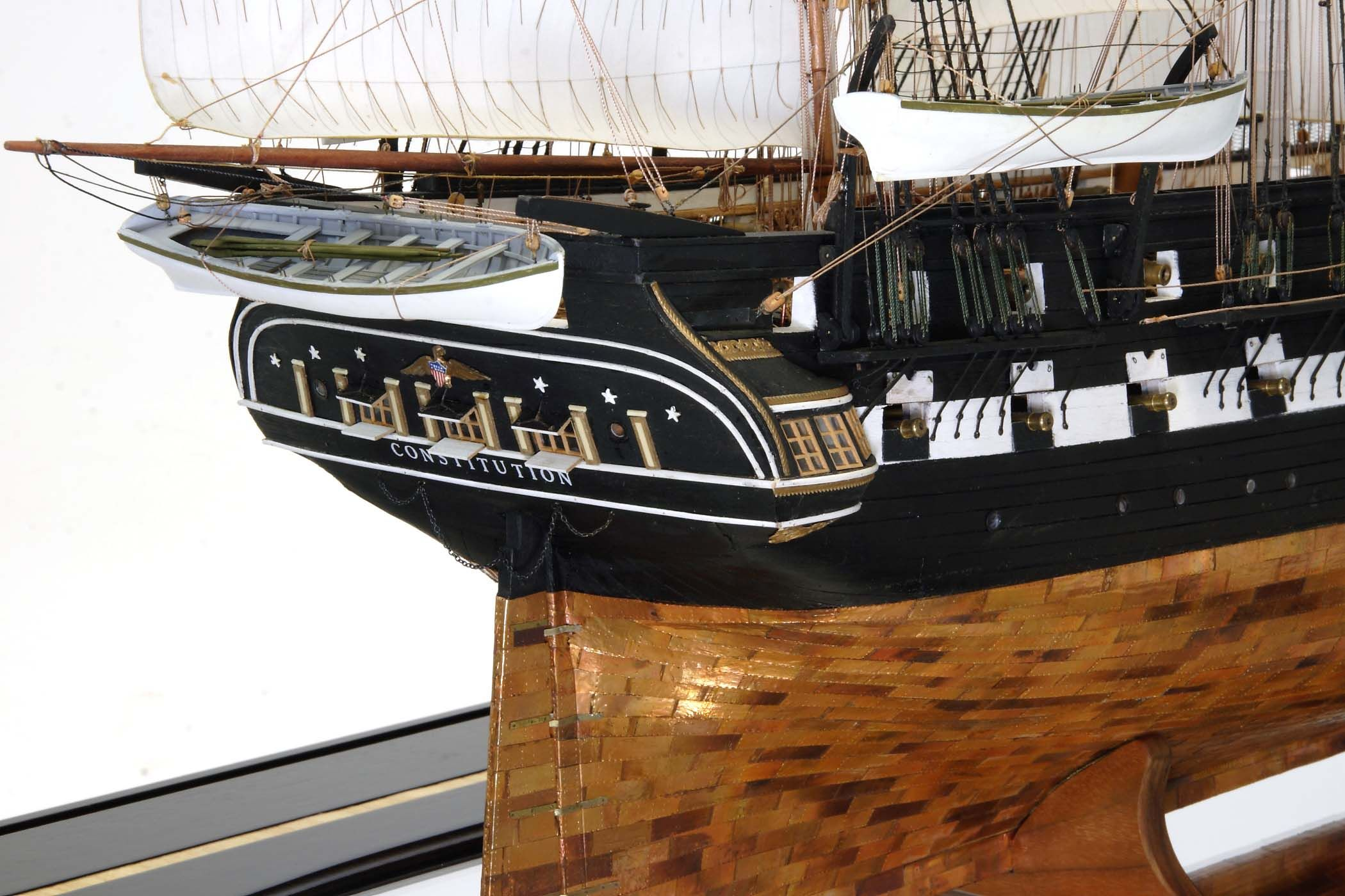uss constitution model paint guide