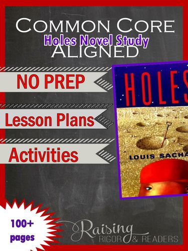 holes louis sachar study guide