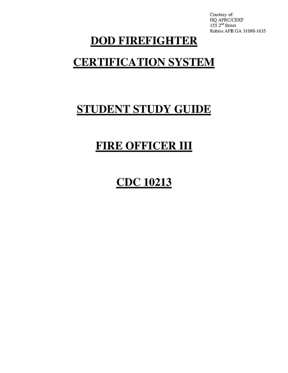 correctional officer study guide pdf