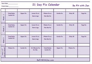 21 day fix eating guide pdf