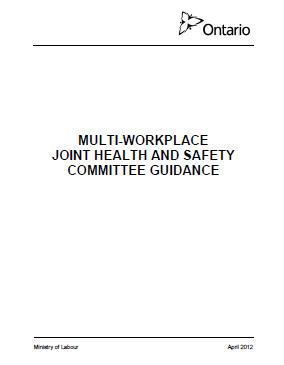 a guide for joint health and safety committees