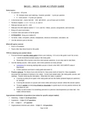 ets business exam study guide