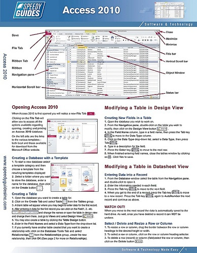microsoft access guide for beginners