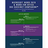 ms word quick reference guide