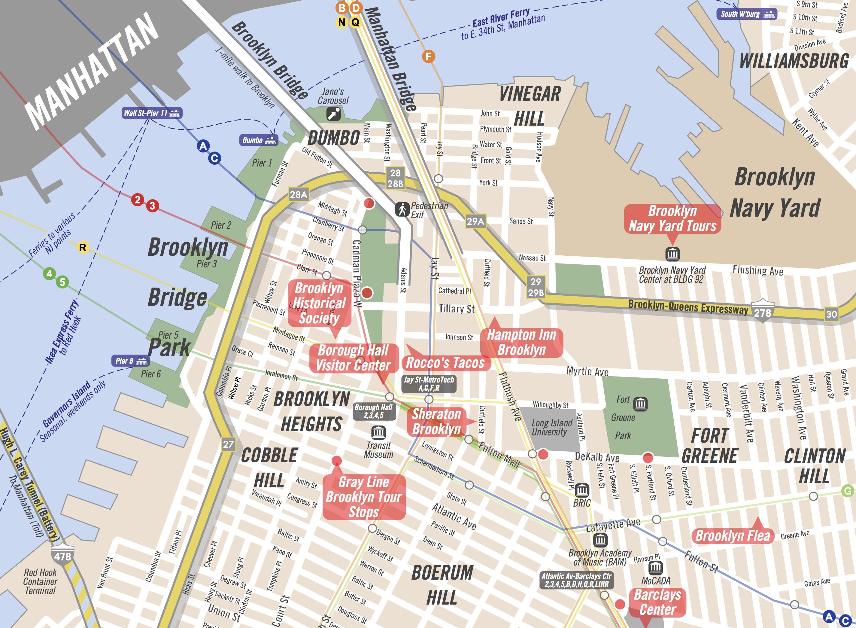 new york tourist guide book free