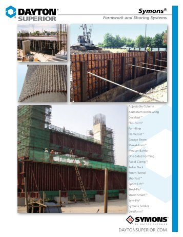 symons steel ply application guide