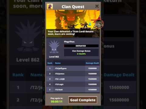 tap titans 2 tournament guide