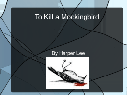 to kill a mockingbird study guide questions chapters 26 31